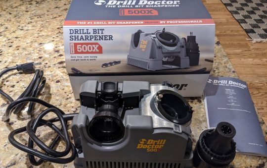 Drill Doctor 500x Drill bit sharpener review