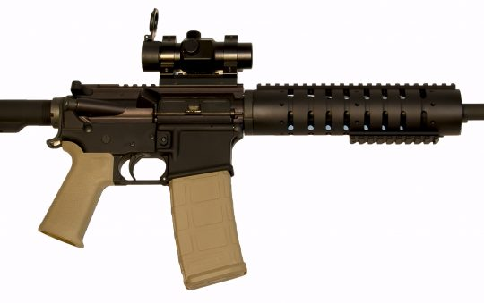 Anderson Rifles AR15 Complete Upper Review rf85 coated