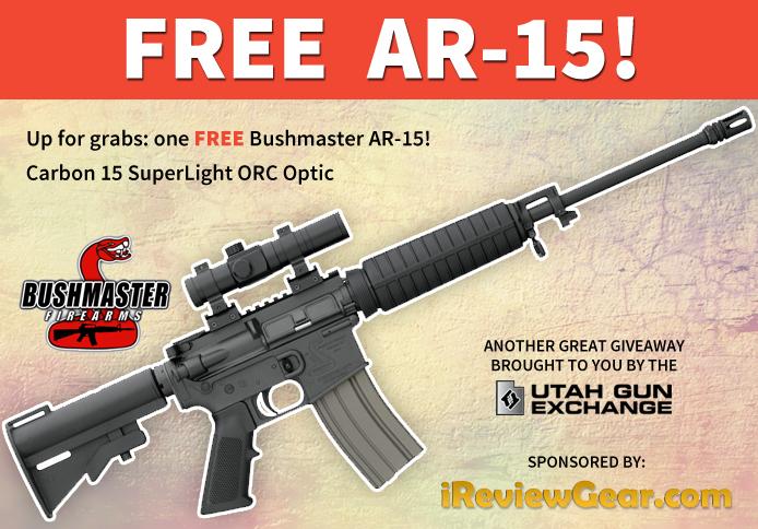 Win A Bushmaster AR 15