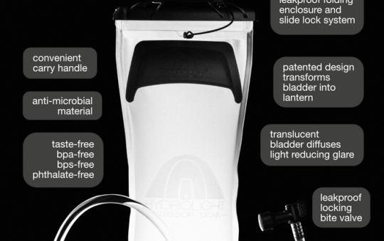 Hydrolight™ | Multifunctional Water Bladder