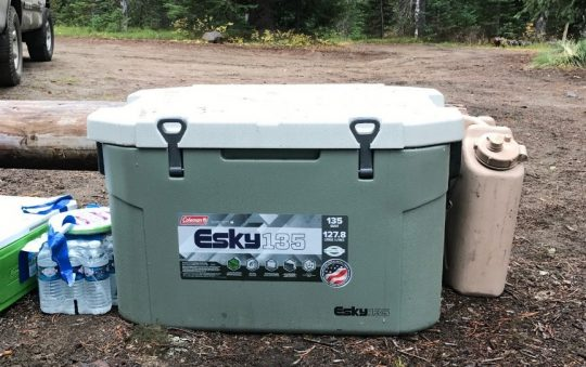 Esky 135 Cooler and cold box review