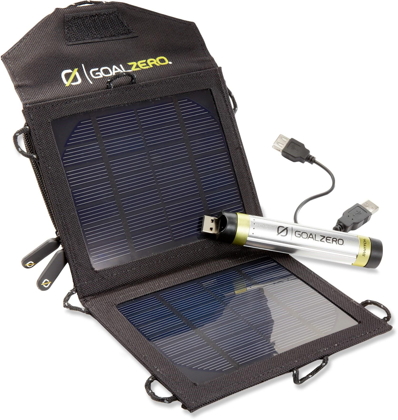 GOALZERO NOMAD 3.5 SOLAR PANEL/SWITCH 8 POWERPACK KIT REVIEW