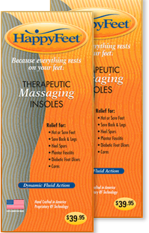 Happy Feet Insoles Review