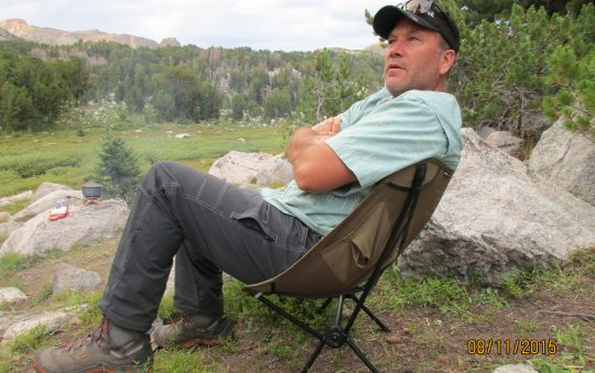 Helinox Back Packing Camp Chair, by Big Agnes best packing chair review