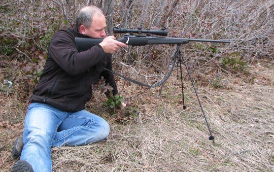 SnipePod Hunting Shooting Bipod Sticks Review by Kramer Des.