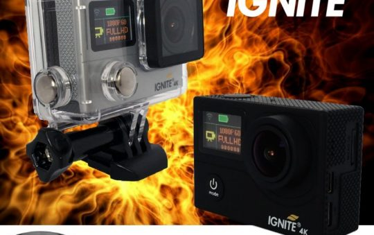 Ignite 4k Action Camera Review