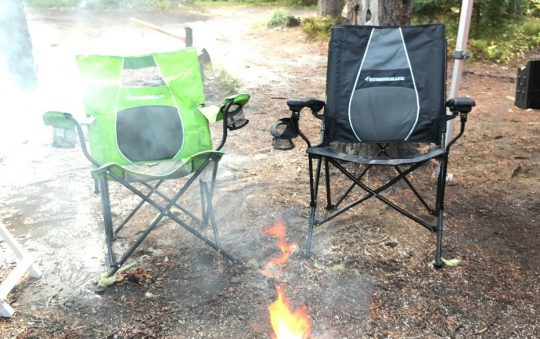 STRONGBACK Elite and Core Folding Camp Chairs