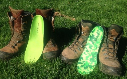 SUPERfeet Green and SUPERfeet Guide Shoe insert Review